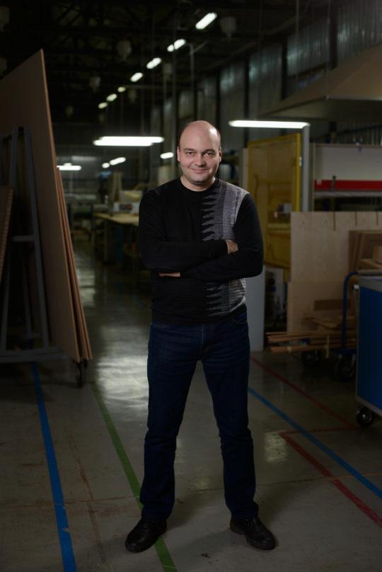 Портрет на производстве